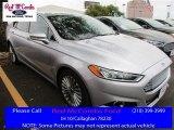 2016 Ingot Silver Metallic Ford Fusion Titanium #111738146