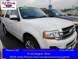 2015 White Platinum Metallic Tri-Coat Ford Expedition Limited #111738142