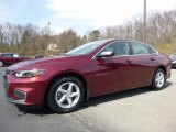 2016 Butte Red Metallic Chevrolet Malibu LS #111738295