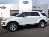 2016 Oxford White Ford Explorer XLT 4WD #111738492