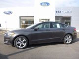 2016 Magnetic Metallic Ford Fusion S #111738490
