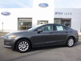 2016 Magnetic Metallic Ford Fusion S #111738489