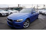 2013 Estoril Blue BMW 3 Series 328i xDrive Sedan #111738333