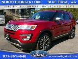 2016 Ruby Red Metallic Tri-Coat Ford Explorer Platinum 4WD #111737995