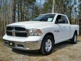 2014 Bright White Ram 1500 SLT Quad Cab #111771011