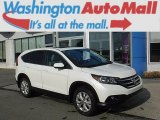 2013 White Diamond Pearl Honda CR-V EX AWD #111770680