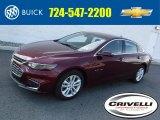 2016 Butte Red Metallic Chevrolet Malibu LT #111770907