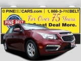 2016 Siren Red Tintcoat Chevrolet Cruze Limited LT #111770515