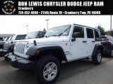 2016 Bright White Jeep Wrangler Unlimited Sport 4x4 #111770657