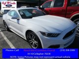 2016 Oxford White Ford Mustang EcoBoost Premium Coupe #111809168