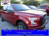 2016 Ruby Red Ford F150 XLT SuperCrew 4x4 #111809164