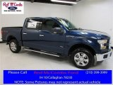 2016 Blue Jeans Ford F150 XLT SuperCrew 4x4 #111809160