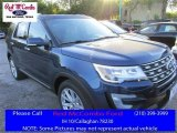 2016 Blue Jeans Metallic Ford Explorer Limited #111809157