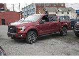 2016 Ruby Red Ford F150 XLT SuperCrew 4x4 #111809299