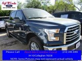2016 Blue Jeans Ford F150 XLT SuperCrew 4x4 #111809152