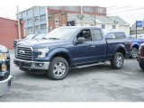 2016 Blue Jeans Ford F150 XLT SuperCab 4x4 #111809295