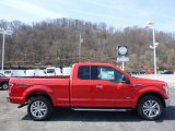 2016 Race Red Ford F150 XLT SuperCab 4x4 #111809221