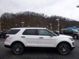 2016 White Platinum Metallic Tri-Coat Ford Explorer Sport 4WD #111809216