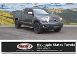 2011 Magnetic Gray Metallic Toyota Tundra Limited Double Cab 4x4 #111809053