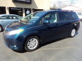 2011 South Pacific Blue Pearl Toyota Sienna XLE #111844751