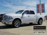 2014 Bright White Ram 1500 Laramie Crew Cab 4x4 #111844693