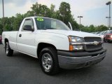 2003 Summit White Chevrolet Silverado 1500 Regular Cab #11169565