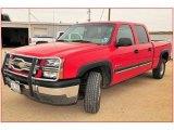 2003 Victory Red Chevrolet Silverado 1500 HD Crew Cab #11173130