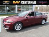 2016 Crystal Red Tintcoat Chevrolet Malibu LT #111864279
