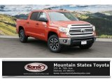 2016 Inferno Orange Toyota Tundra SR5 CrewMax 4x4 #111891314