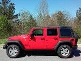 2016 Firecracker Red Jeep Wrangler Unlimited Sport 4x4 #111891299