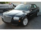 2008 Brilliant Black Crystal Pearl Chrysler 300 LX #11174707