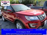 2016 Ruby Red Metallic Tri-Coat Ford Explorer Limited #111891424