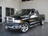 2005 Black Dodge Ram 1500 Laramie Quad Cab #11160133