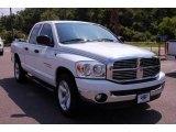 2007 Bright White Dodge Ram 1500 SLT Quad Cab #11172837