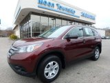 2013 Basque Red Pearl II Honda CR-V LX AWD #111927527