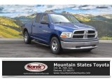 2011 Deep Water Blue Pearl Dodge Ram 1500 ST Quad Cab 4x4 #111927341