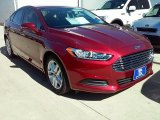 2016 Ruby Red Metallic Ford Fusion SE #111951200