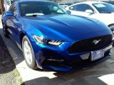 2016 Deep Impact Blue Metallic Ford Mustang V6 Coupe #111951198