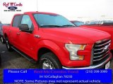 2016 Race Red Ford F150 XLT SuperCrew 4x4 #111951193