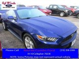 2016 Deep Impact Blue Metallic Ford Mustang V6 Coupe #111951192