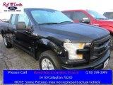 2016 Shadow Black Ford F150 XL SuperCab #111951188
