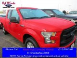 2016 Race Red Ford F150 XL SuperCab #111951187