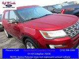 2016 Ruby Red Metallic Tri-Coat Ford Explorer XLT #111951182