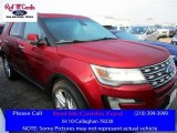 2016 Ruby Red Metallic Tri-Coat Ford Explorer Limited #111951180
