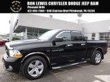 2012 Black Dodge Ram 1500 ST Quad Cab 4x4 #111951484