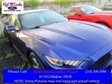 2016 Deep Impact Blue Metallic Ford Mustang V6 Coupe #111951165