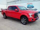 2016 Race Red Ford F150 Lariat SuperCrew 4x4 #111951207