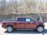 2016 Bronze Fire Ford F150 XLT SuperCrew 4x4 #111951281
