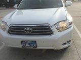 2010 Blizzard White Pearl Toyota Highlander Limited #111951437