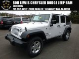 2016 Bright White Jeep Wrangler Unlimited Sport 4x4 #111986543